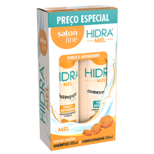 Kit Shampoo + Condicionador Salon Line Hidra Mel 300ml