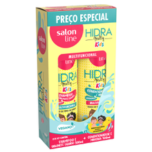 Kit Shampoo + Condicionador Salon Line Hidra Kids 300ml