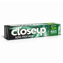 Creme Dental Close Up Ação Profunda Menthol Paradise 90gr