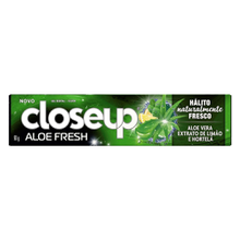 Creme Dental Close Up Aloe Fresh com Fluor 90gr