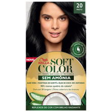 Tonalizante Soft Color Kit Color Preto - 20