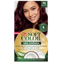 Tonalizante Soft Color Kit Borgonha - 46