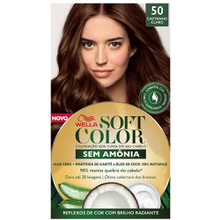 Tonalizante Soft Color Kit Castanho Claro - 50
