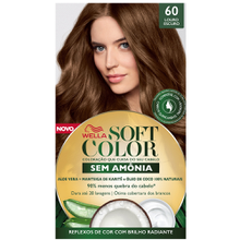 Tonalizante Soft Color Kit Louro Escuro - 60