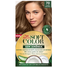 Tonalizante Soft Color Kit Louro Natural - 70