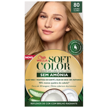 Tonalizante Soft Color Kit Louro Claro - 80