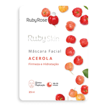 Máscara Facial Ruby Rose Skin Acerola 25ml