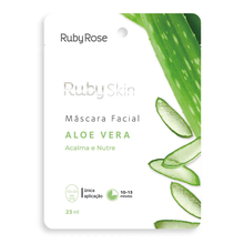 Máscara Facial Ruby Rose Skin Aloe Vera 25ml