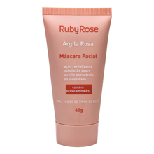 Máscara Facial Ruby Rose Argila Rosa 60gr