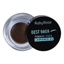 Pomada Para Sobrancelha Ruby Rose Best Brow Medium