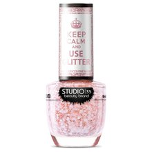 Esmalte Fortalecedor Studio 35 Keep Calm and Use Glitter #FlocosDeNeve 9ml