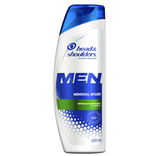 Shampoo Head & Shoulders Men Menthol Sport Refrescante 200ml