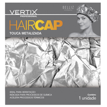 Touca Vertiz Metalizada HairCap