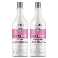 Kit Shampoo + Condicionador Cicatriondas 2000ml - Inoar