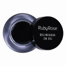 Delineador Em Gel Black - Ruby Rose