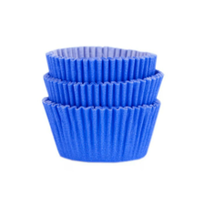 Forminha Greasepel Mini Cupcake Azul Royal Nº2 - Mago 45un