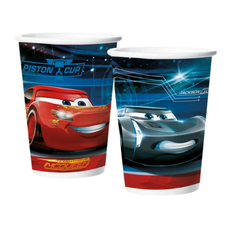 Copo Papel 180ml Cars 3 Regina 8un