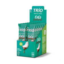Barra De Cereal Trio Coco Com Chocolate 12un
