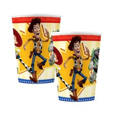 Copo de Papel 180ml Toy Story 4 - Regina 8Un
