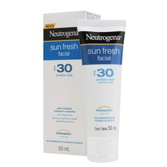 Protetor Solar Neutrogena Sun Fresh Facial FPS30 50ml