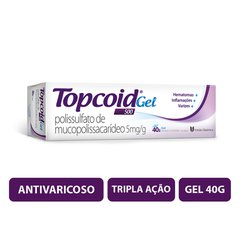 Topcoid 5mg gel bisnaga com 40g