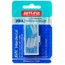 Refil para Escova Interdental Bitufo Cônico 3-7mm
