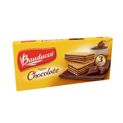 Biscoito Bauducco Wafer sabor Chocolate 140g