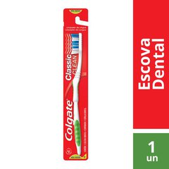 Escova Dental Colgate Classic Clean Macia