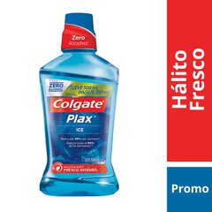 Enxaguante Bucal Colgate Plax Ice Leve 500ml Pague 350ml
