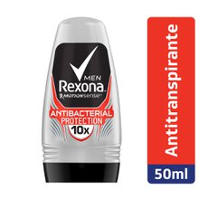 Desodorante Rexona Men Antibacterial Protection Roll-on 50ml