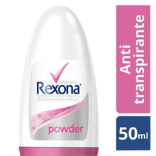 Desodorante Antitranspirante Roll-on Rexona Powder Dry 50ml