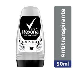 Desodorante Rexona Men Invisible Roll-on 50ml