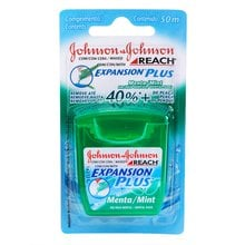 Fio Dental Johnson's & Johnson's Reach Expansion Plus Menta 50m