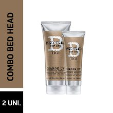 Kit Bed Head Men Charge Up Shampoo 250ml + Condicionador 200ml - Ganhe 15% Desconto