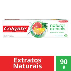 Gel Dental Colgate Natural Extracts Reinforced Defense 90g