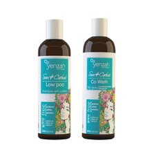 Kit Yenzah Sou+ Cachos Shampoo Lowpoo 240ml + Condicionador Co Wash 365ml