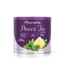 Power Tea Chá Verde Abacaxi 200g