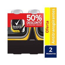 Kit 2 Desodorantes Rexona RollOn V8 50ml