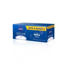 Kit Sabonete em Barra Nivea Creme Care 90G - Leve 6 Pague 5