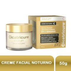 Creme Facial Cicatricure Gold Lift Noturno 50g
