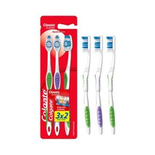 Escova Dental Colgate Classic Clean Macia Leve 3 Pague 2