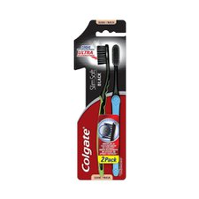 Escova Dental Colgate Slimsoft Black Macia Leve 2 Pague 1