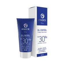 Anasol Viso Oil Control Fluido Facial Toque Seco FPS 30 60ml