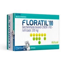 Floratil 100mg com 12 Cápsulas