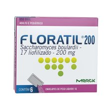 Floratil 200mg com 6 Envelopes