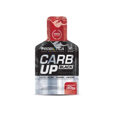 Carb Up Black Gel Morango 30g Probiótica