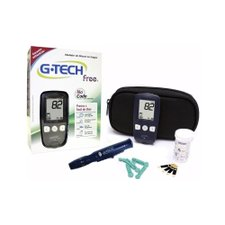 Kit Medidor de Glicose G-Tech Free No Code