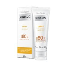 Minesol Unify Gel Creme FPS 80 40g