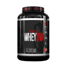 Muscle Whey Hd Morango 900g