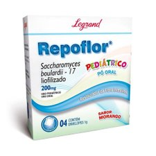 Repoflor 200mg com 4 Envelopes de 1g Cada